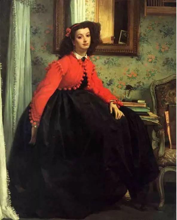 法国雅姆·蒂索(Tissot)人物油画插图21