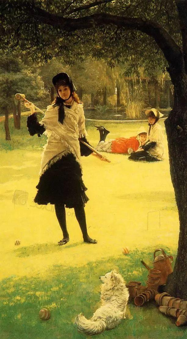 法国雅姆·蒂索(Tissot)人物油画插图23