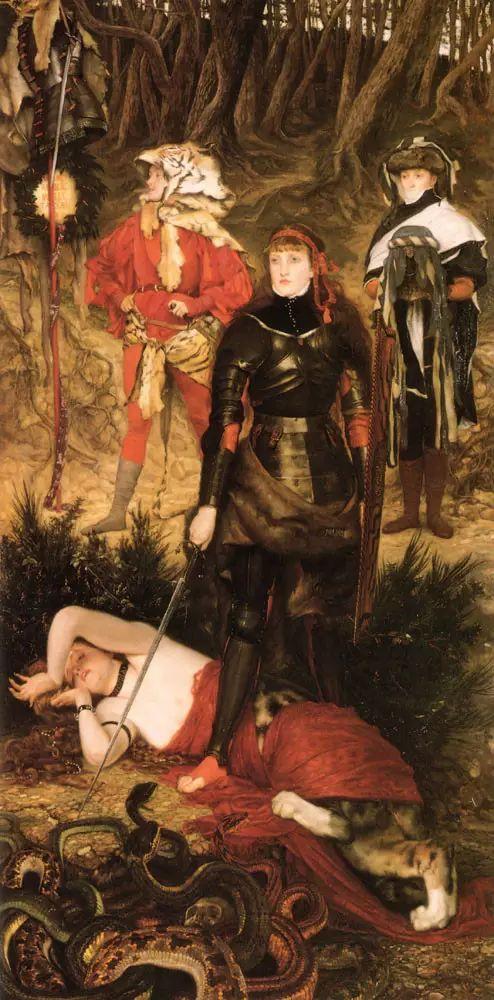 法国雅姆·蒂索(Tissot)人物油画插图41
