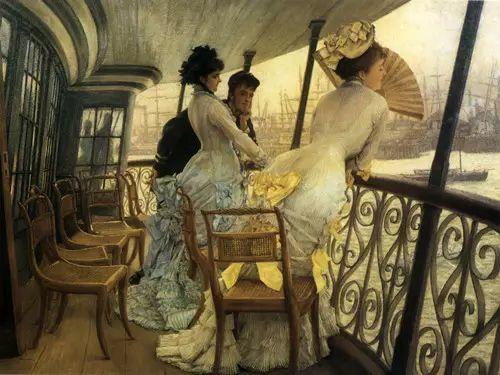 法国雅姆·蒂索(Tissot)人物油画插图43