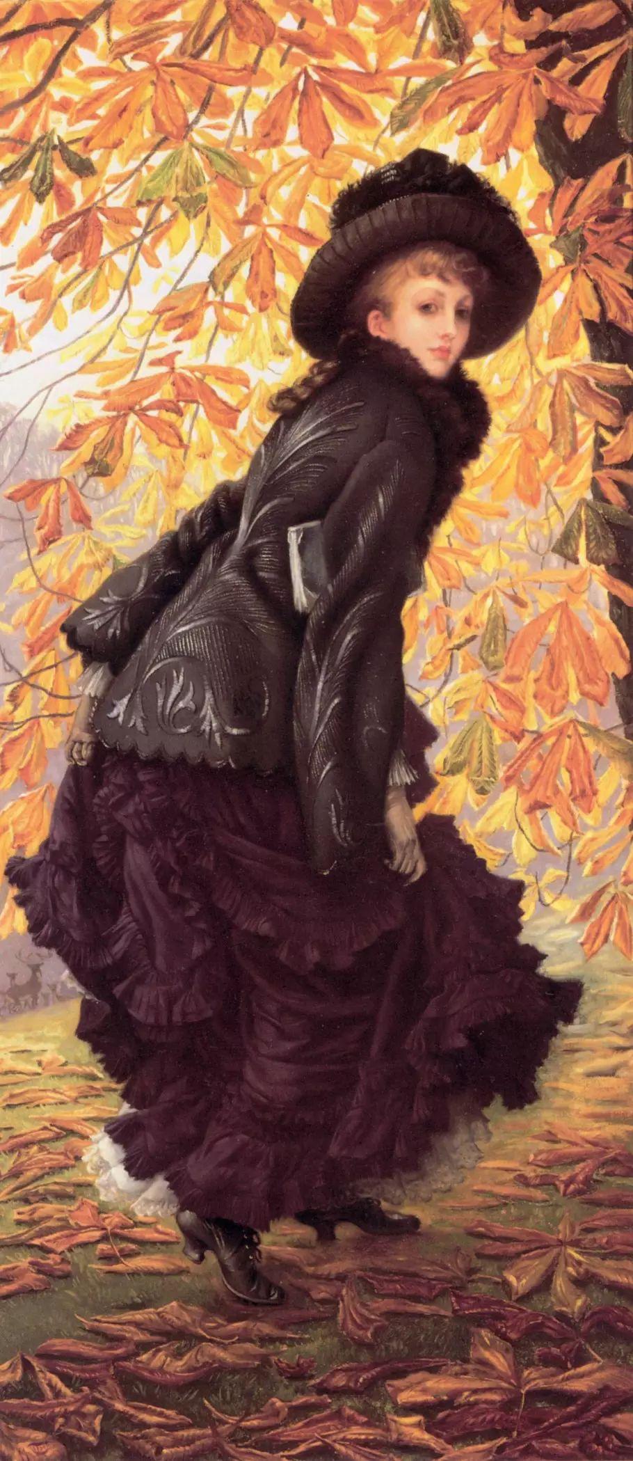 法国雅姆·蒂索(Tissot)人物油画插图45