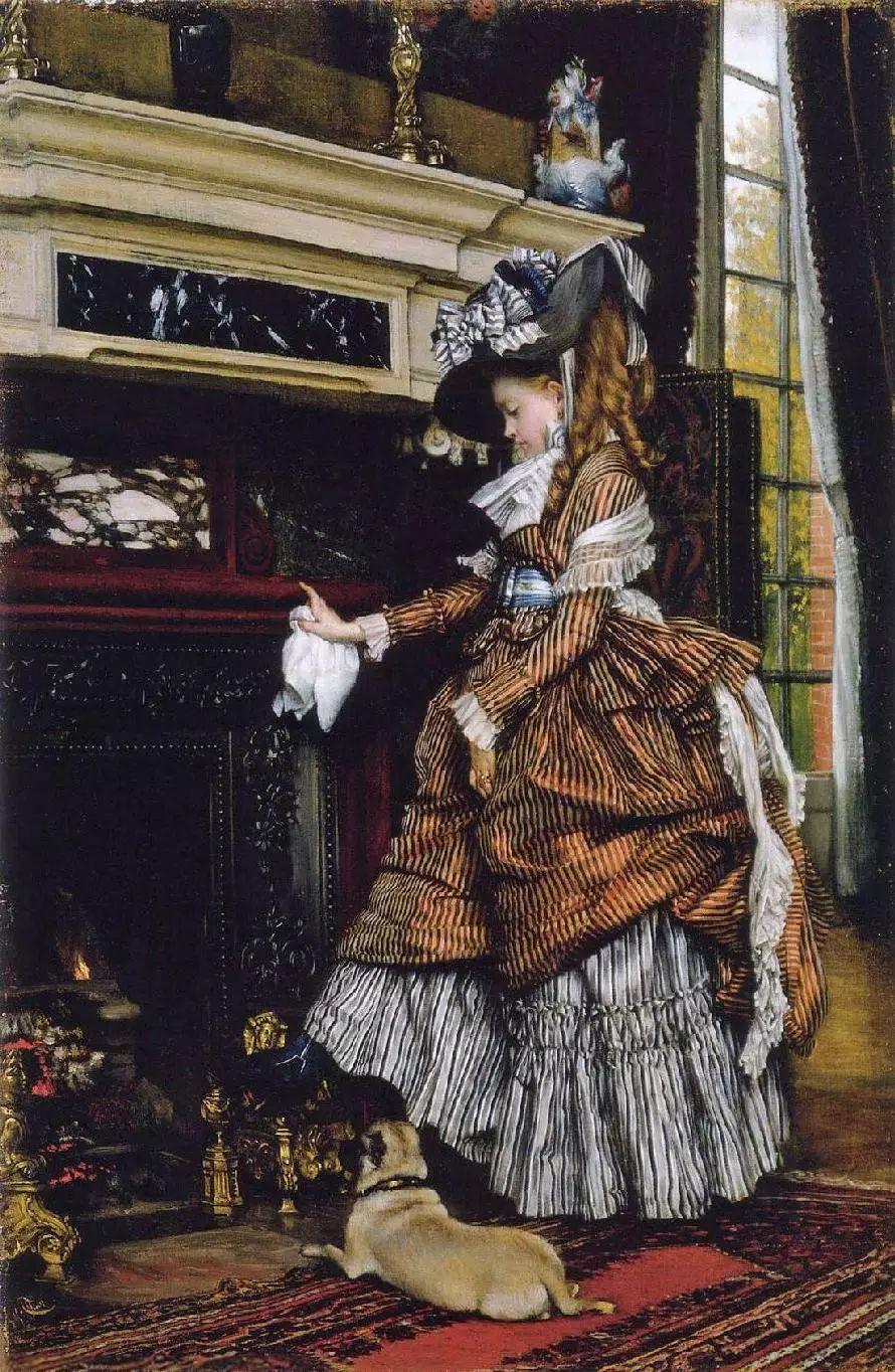 法国雅姆·蒂索(Tissot)人物油画插图47