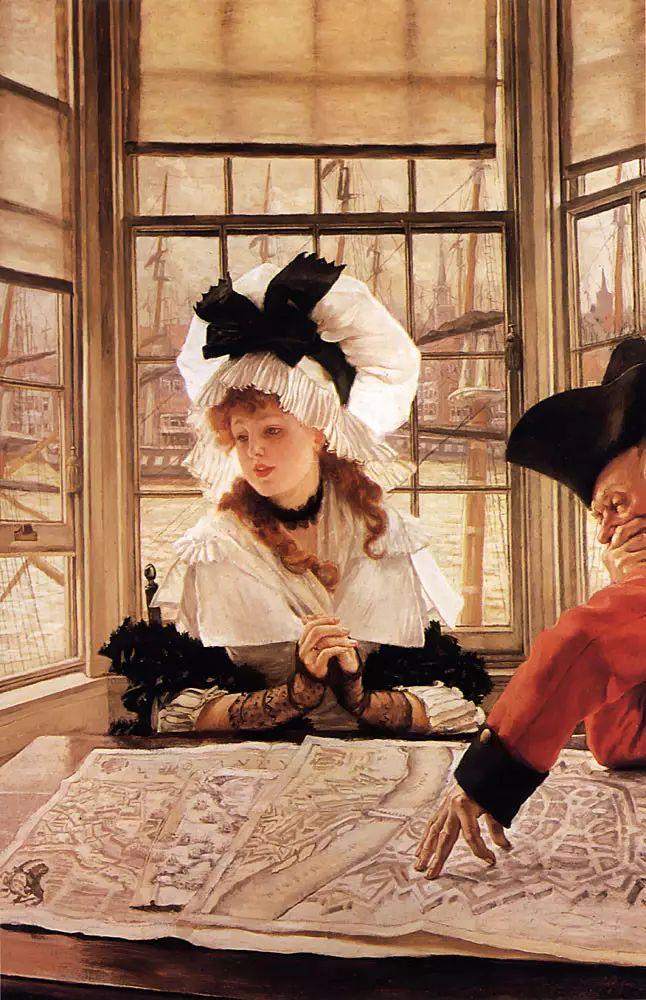 法国雅姆·蒂索(Tissot)人物油画插图77