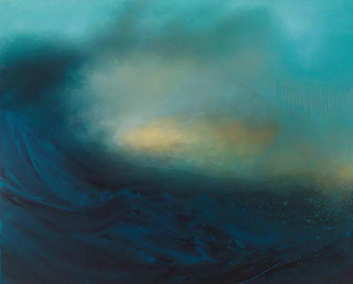 色彩迷幻风格抽象的海景插图7