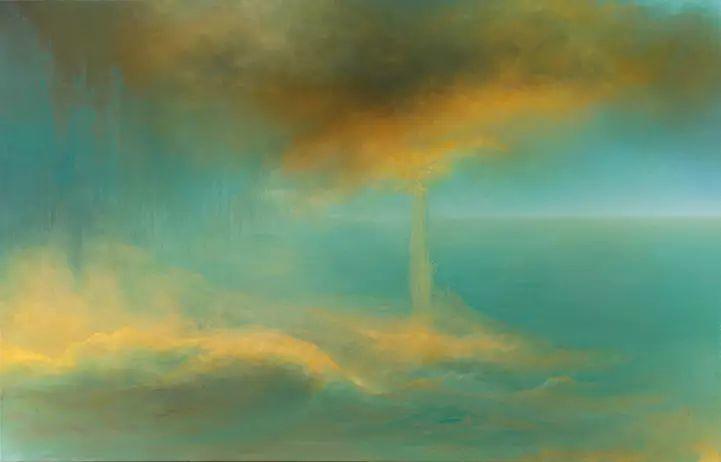 色彩迷幻风格抽象的海景插图9
