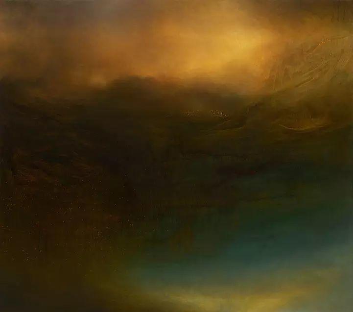 色彩迷幻风格抽象的海景插图19