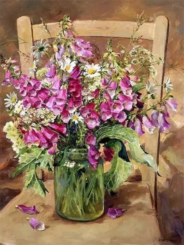 英国画家安妮奶奶的那些花插图5