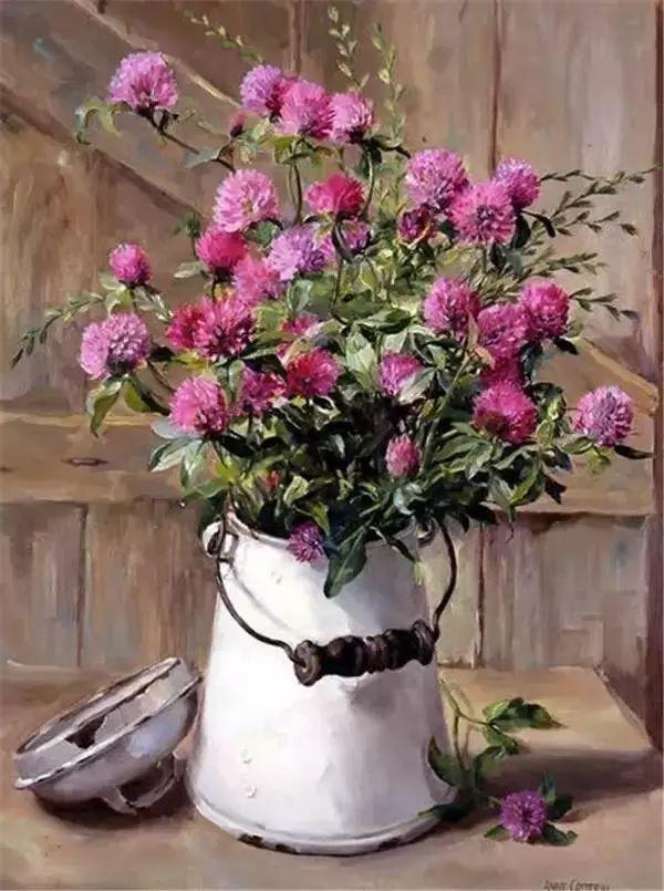 英国画家安妮奶奶的那些花插图7