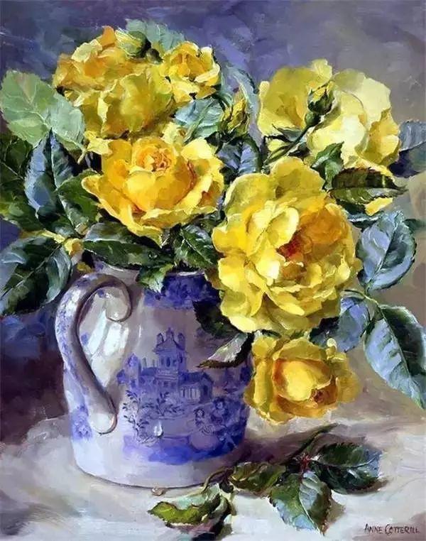 英国画家安妮奶奶的那些花插图9