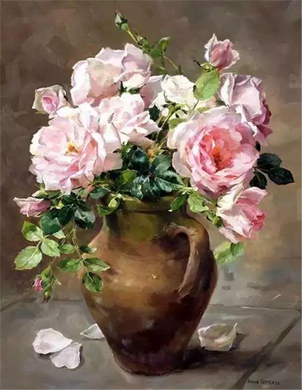 英国画家安妮奶奶的那些花插图11