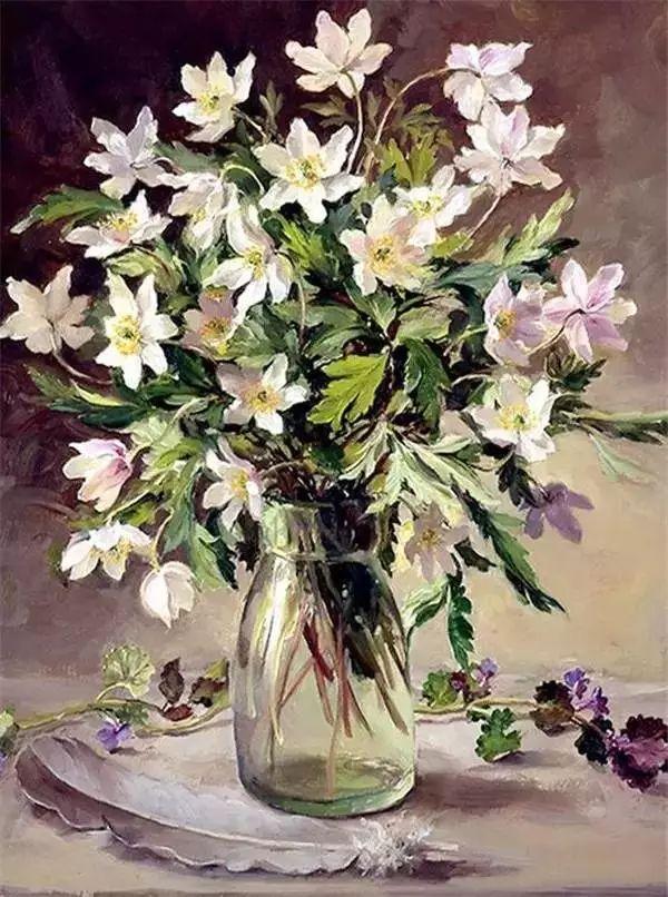 英国画家安妮奶奶的那些花插图13