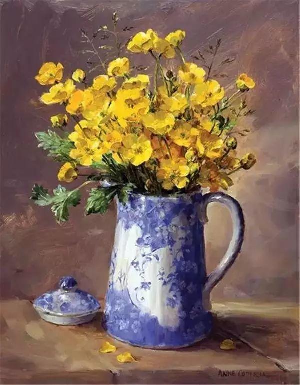 英国画家安妮奶奶的那些花插图17