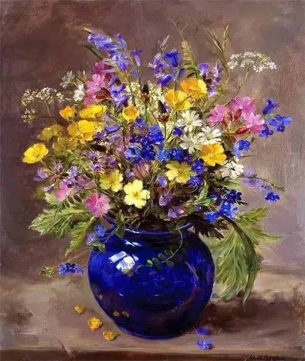 英国画家安妮奶奶的那些花插图19