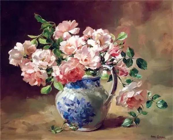 英国画家安妮奶奶的那些花插图21