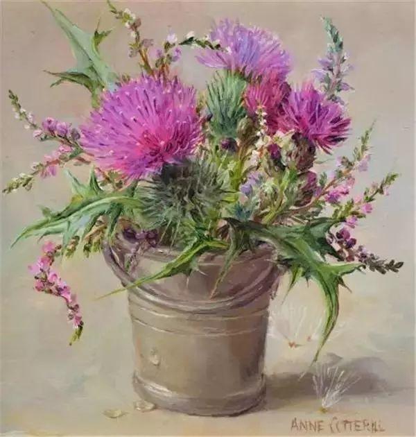英国画家安妮奶奶的那些花插图23