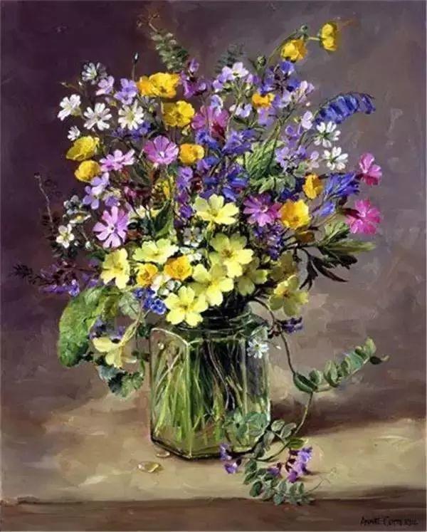 英国画家安妮奶奶的那些花插图25