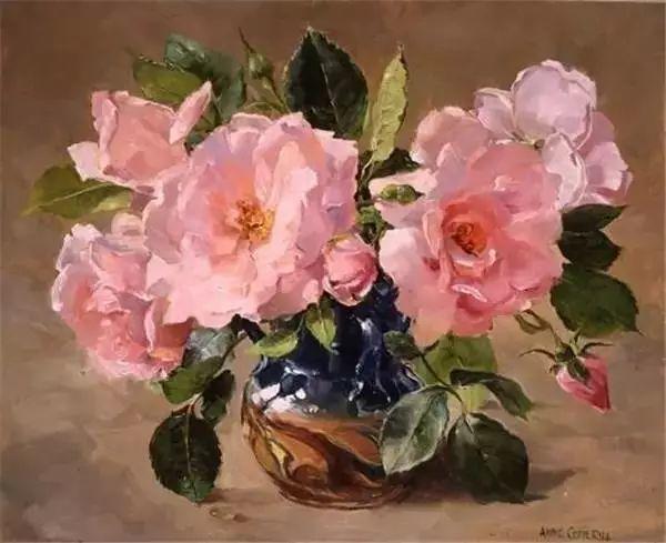 英国画家安妮奶奶的那些花插图27