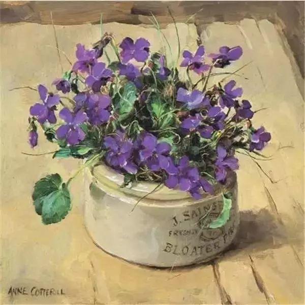 英国画家安妮奶奶的那些花插图29