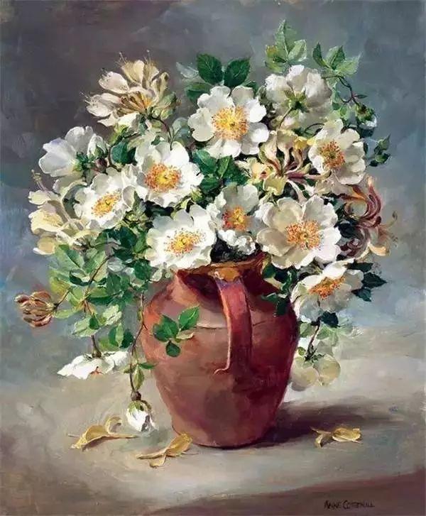 英国画家安妮奶奶的那些花插图33