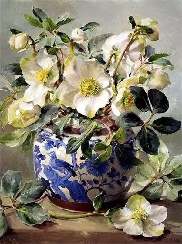 英国画家安妮奶奶的那些花插图35