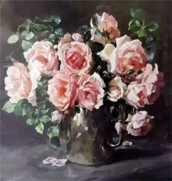 英国画家安妮奶奶的那些花插图41