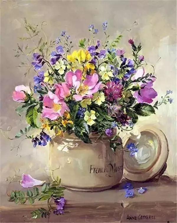英国画家安妮奶奶的那些花插图43