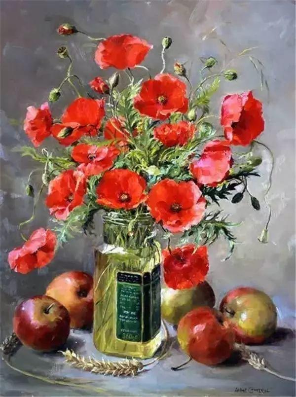 英国画家安妮奶奶的那些花插图45