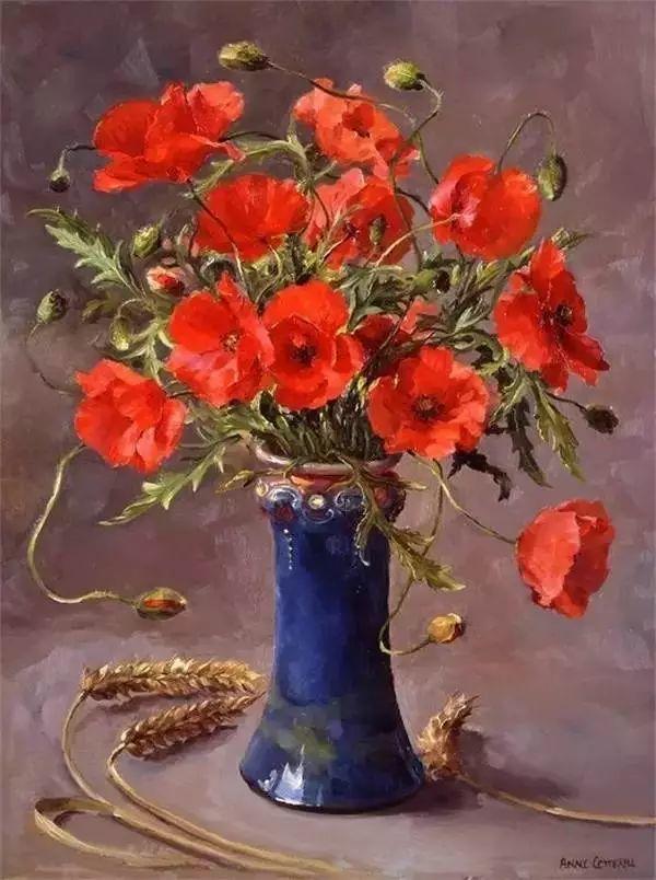 英国画家安妮奶奶的那些花插图53