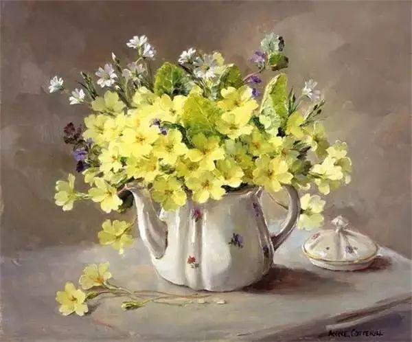 英国画家安妮奶奶的那些花插图55