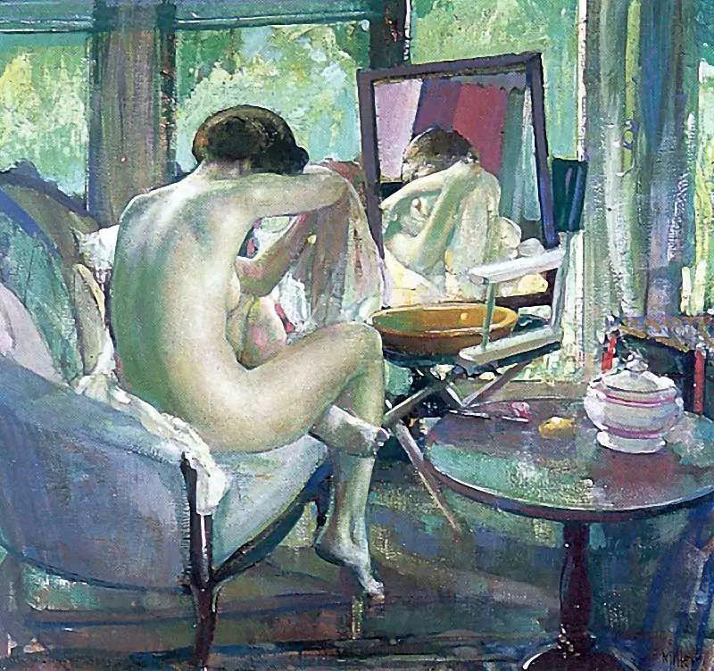 美国画家Richard Emil Miller人物绘画作品插图51