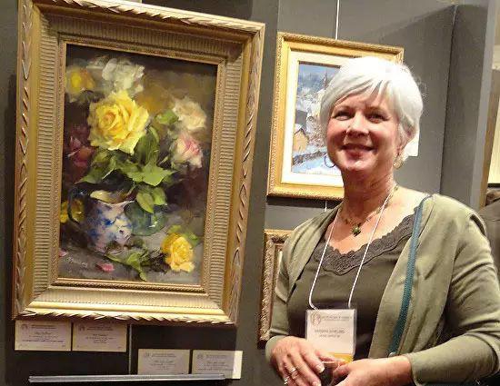 美国女画家Bardara.Schilling静物花卉插图1