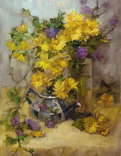 美国女画家Bardara.Schilling静物花卉插图3