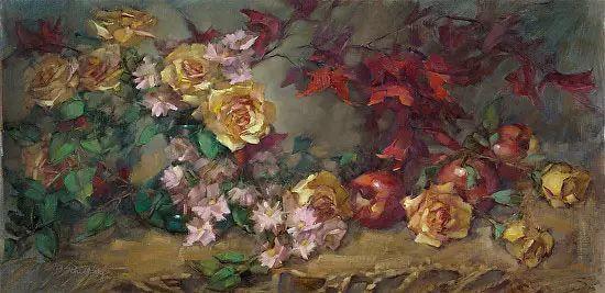 美国女画家Bardara.Schilling静物花卉插图5