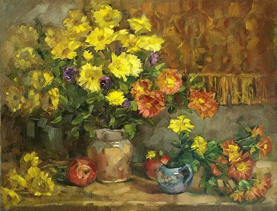 美国女画家Bardara.Schilling静物花卉插图12