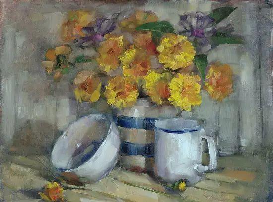 美国女画家Bardara.Schilling静物花卉插图20