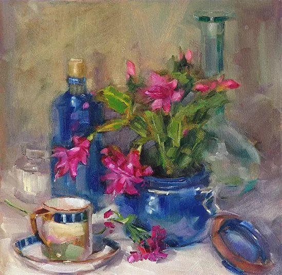 美国女画家Bardara.Schilling静物花卉插图22