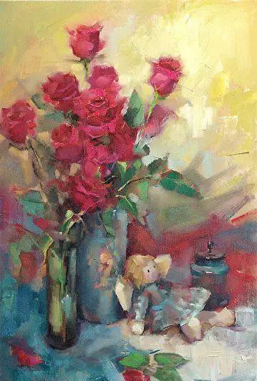 美国女画家Bardara.Schilling静物花卉插图26