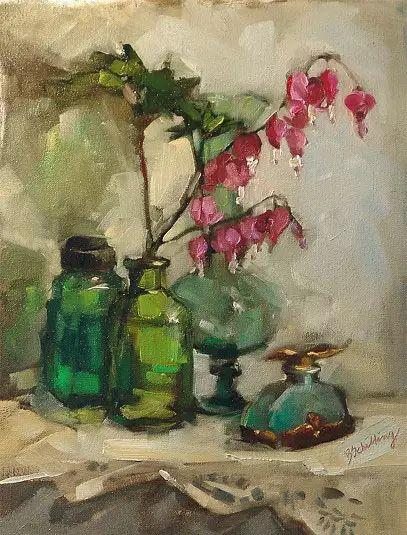 美国女画家Bardara.Schilling静物花卉插图34