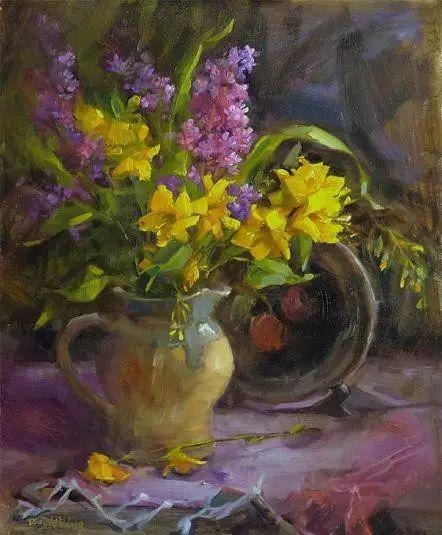 美国女画家Bardara.Schilling静物花卉插图40