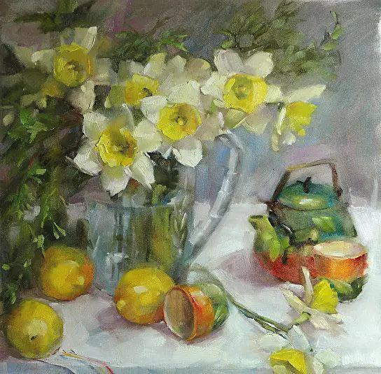 美国女画家Bardara.Schilling静物花卉插图44