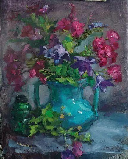 美国女画家Bardara.Schilling静物花卉插图46