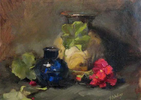 美国女画家Bardara.Schilling静物花卉插图50