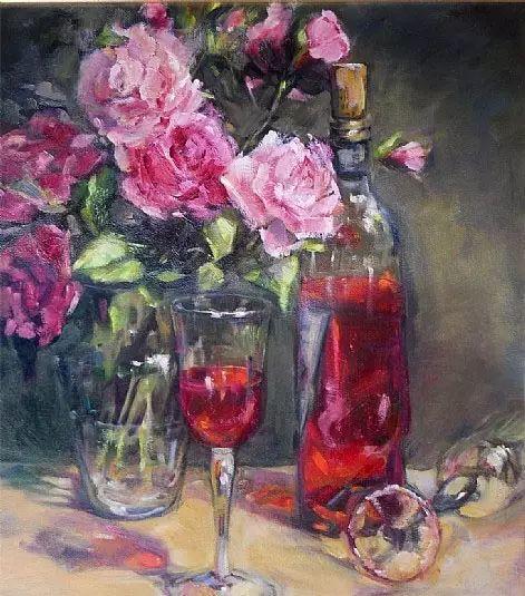 美国女画家Bardara.Schilling静物花卉插图54