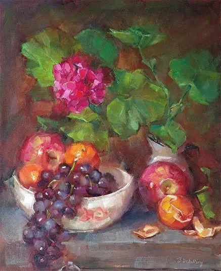 美国女画家Bardara.Schilling静物花卉插图56