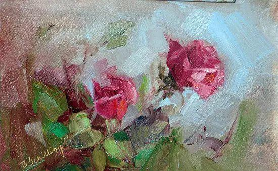 美国女画家Bardara.Schilling静物花卉插图58