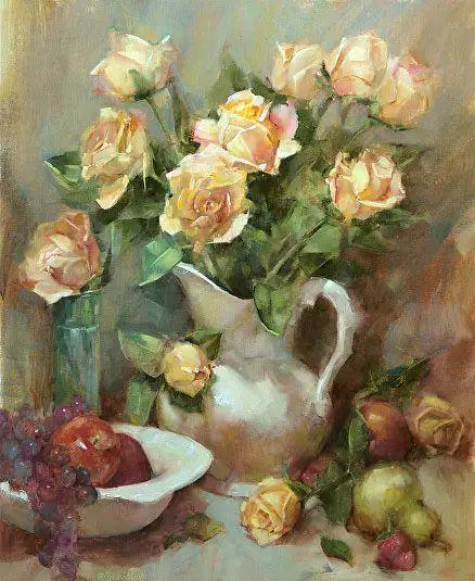 美国女画家Bardara.Schilling静物花卉插图60