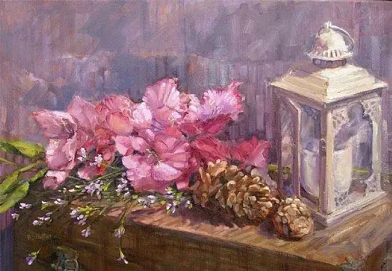 美国女画家Bardara.Schilling静物花卉插图62