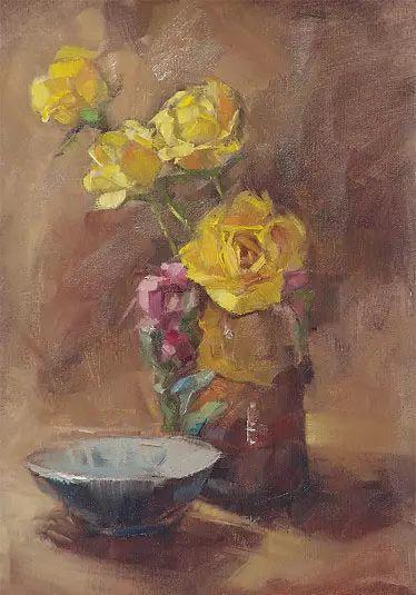 美国女画家Bardara.Schilling静物花卉插图66