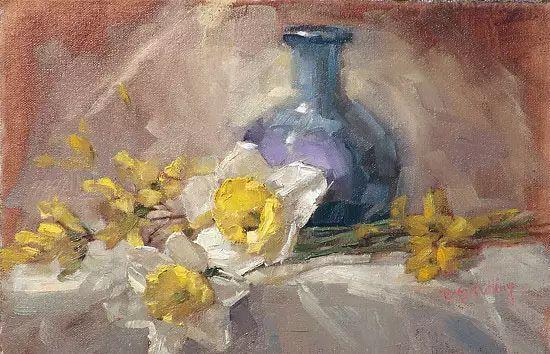 美国女画家Bardara.Schilling静物花卉插图68