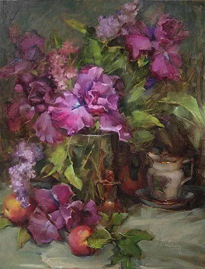 美国女画家Bardara.Schilling静物花卉插图70